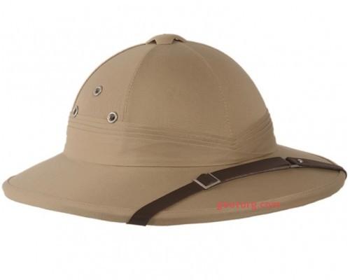 Шлем французский тропический, Mil-tec, хаки