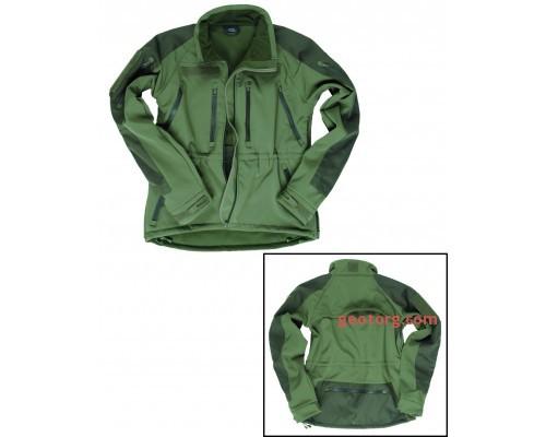 Милтек куртка Softshell Plus (Olive).