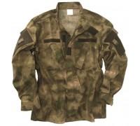 """Китель военный полевой """"ACU A-TACS"""" зеленая листва"""