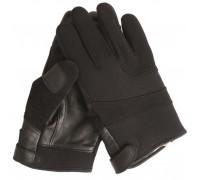 Милтек перчатки неопрен/кевлар черные.