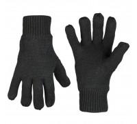 Милтек перчатки вязаные Thinsulate черные
