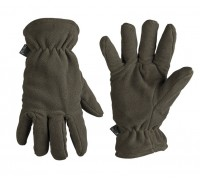 Милтек перчатки Thinsulate флис олива