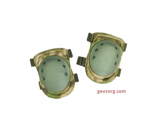 Наколенники тактические, Mil-tec, зеленые листья
