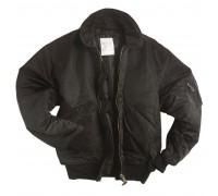 Куртка CWU летная, Mil-tec, черная.