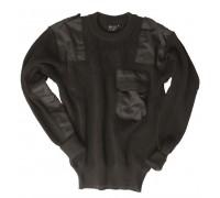 Бундес.свитер акрил черный.