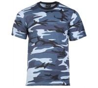 Милтек футболка SKY BLUE