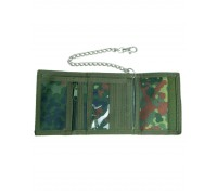 Милтек кошелек с цепочкой и карабином флектарн