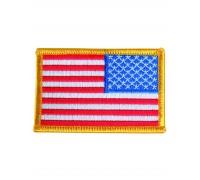 Милтек США флаг нарукавный реверс цветной