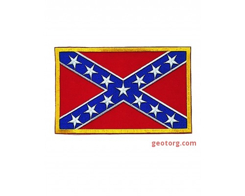Милтек флаг нарукавный Конфедерат