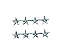 Нашивка 4 Звезды, Mil-tec.