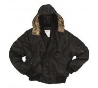 Куртка летная N2B, Mil-tec, черная.