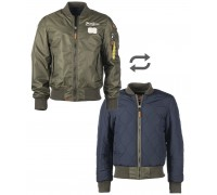Летная куртка ′tomcat′ оливковая