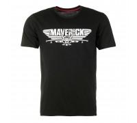 Футболка 'maverick' черная