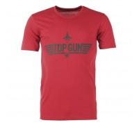 Футболка 'top gun' красная