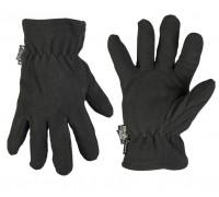 Милтек перчатки Thinsulate флис черные