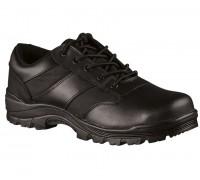 Ботинки службы безопасности низкие, черные