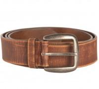 """Ремень брючный кожаный """"VINTAGE"""" , 40 мм, Mil-tec, коричневый"""