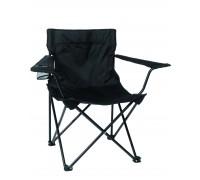 Кресло для отдыха складное, черное