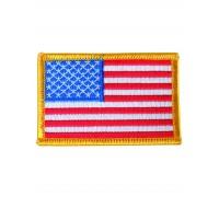 Милтек США флаг нарукавный цветной