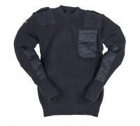 Немецкий темно-синий свитер