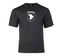 """Милтек футболка """"101st Airborne"""" черная"""