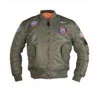 Куртка летная МА1 детская, Mil-tec, олива