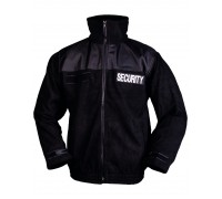 """Куртка флисовая """"SECURITY"""" черная"""