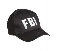 """Бейсболка """"FBI"""" черная"""