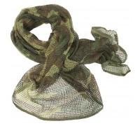 Милтек шарф-сетка 190х90см вудленд