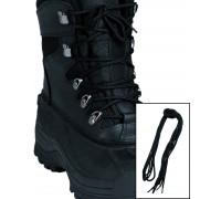 Шнурки для ботинок десантника полиэстер (140 cм.), Mil-tec, черные.