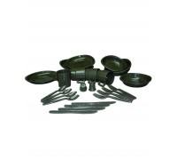 Набор посуды (26 предметов), Mil-tec, олива.