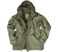 Милтек США куртка-мембрана с подстежкой олива