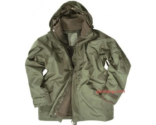 Куртка США ветро-влагозащитная с подстежкой (олива)