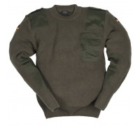 Милтек Бундес. свитер (Оливковый)
