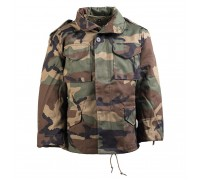"""Куртка детская """"М65"""" с подкладом (вудланд)"""