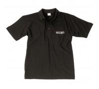 SECURITY рубашка-поло (черный) со штампом.