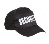 """Милтек бейсболка """"SECURITY"""" черная"""