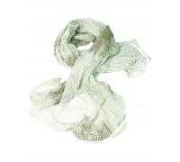 Милтек шарф-сетка 190х90см белый