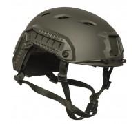 """Шлем парашютиста """"FAST"""", Mil-tec, олива."""