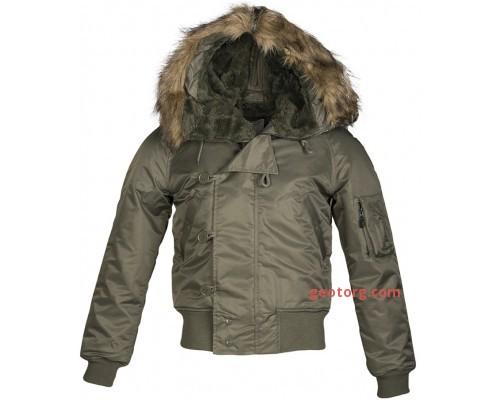 """Летная куртка США """"N2B"""" (Olive)"""