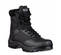 Милтек ботинки тактические с молнией черные