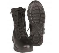 Ботинки тактические на 2-х молниях, черные