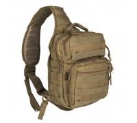 Милтек рюкзак через плечо малый койот