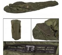 Милтек спальник Tactical 3 (0С) олива