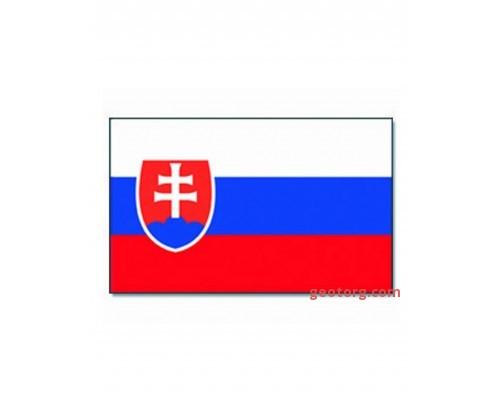 Милтек флаг Словакии 90х150см