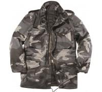 """Куртка США """"М65"""" с подкладом (темный камуфляж)"""