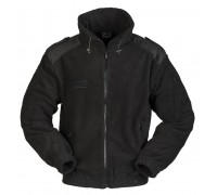 Милтек куртка флис черная все разм.