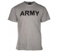 Милтек футболка Army серая.