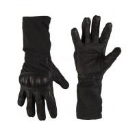 Милтек перчатки Action длинные номекс черные все разм.