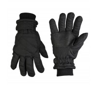 Милтек перчатки Thinsulate черные.